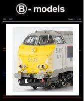 B-models Locomotieven