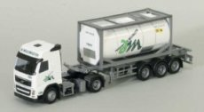 74787 Volvo FH Glob Tank Container De Meulemeester H0